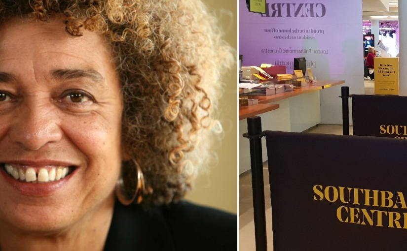 Angela Davis au South Bank Centre de Londres